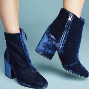 NEW Sam Edelman Taye Velvet Ankle Boots
